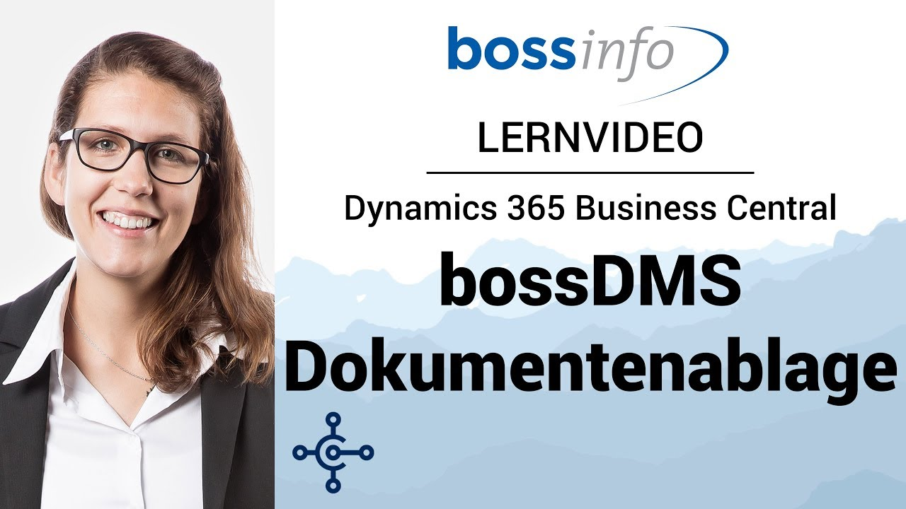 bossDMS für Microsoft Dynamics 365 Business Central