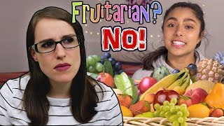 Michelle Khare Tries a Fruitarian Raw Vegan Diet for a Week