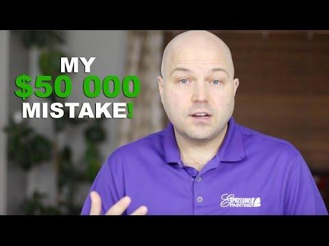 My $50 000 MISTAKE!