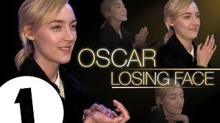 Saoirse Ronan practices her 'Oscar Losing Face'