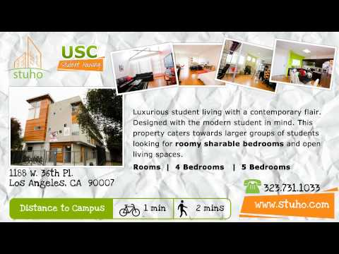 Student Housing near USC For Rent, Off-Campus USC Student Housing - Leasing