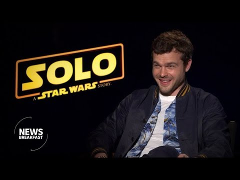 'Don't copy Harrison Ford': The cast of the new Han Solo film on that iconic Star Wars role