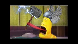 LARVA ❤️ The Best Funny cartoon 2017 HD ► La THOR DARK WORLD ❤️ The newest compilation 2017 ♪♪ PART