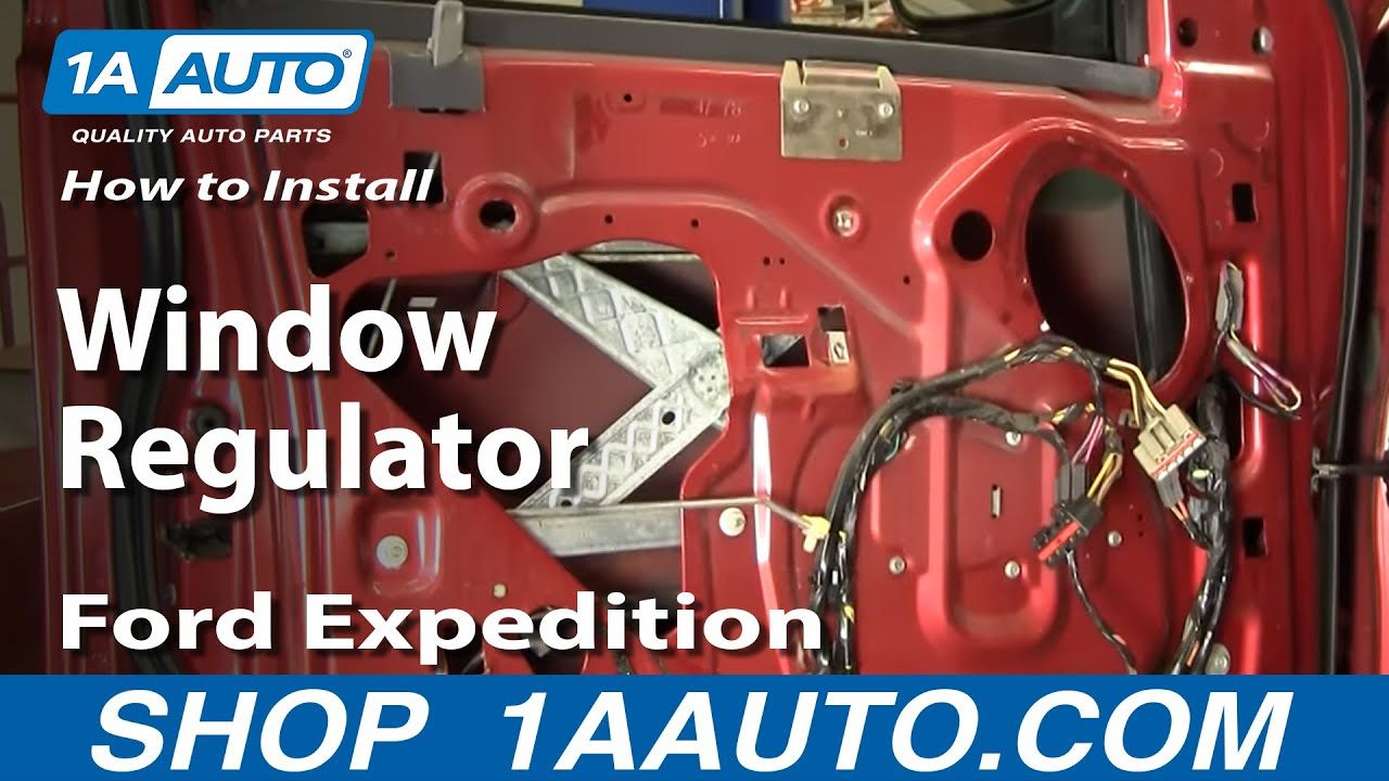 How To Install Replace Window Regulator Ford F 150