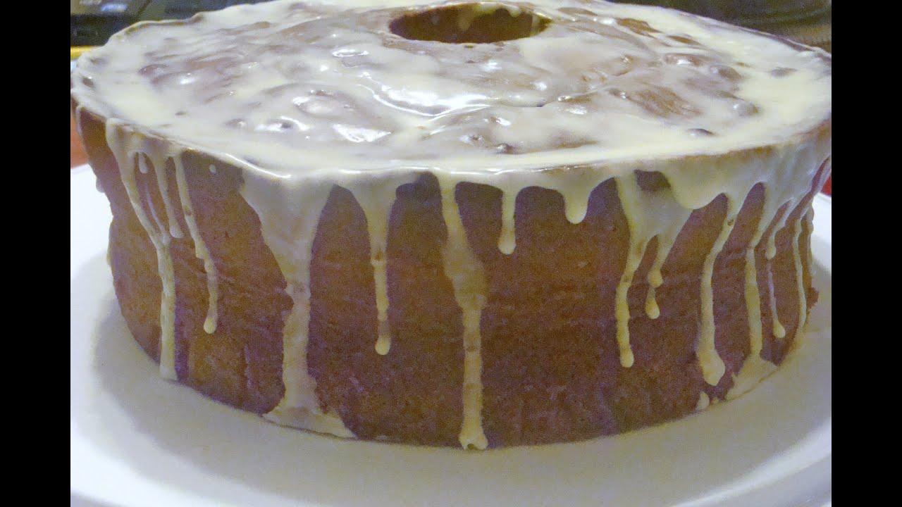 Philadelphia Cream Cheese Pound Cake Youtube