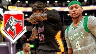 UNLOCKING GRAND BADGE WHILE TAUNTING THOMAS! NBA 2K17 My Career Gameplay Ep. 54