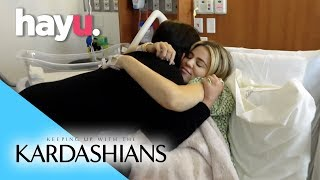 Things Get Emotional After Khloé's Birth  | Keeping Up with the Kardashians