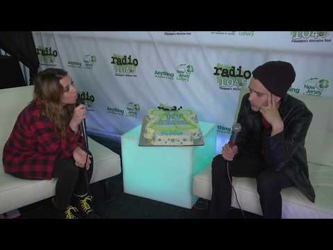 The 1975 Interview at Radio 104.5's 10th Birthday Celebration