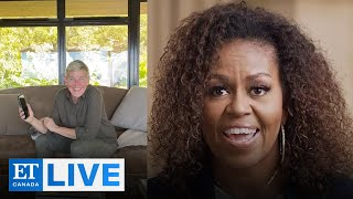 Ellen DeGeneres Calls Michelle Obama In Self-Isolation | ET Canada LIVE