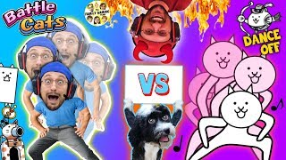 CHRISTMAS CATS vs. FGTEEV DOG, OREO!  Most Epic Cat Game Ever!