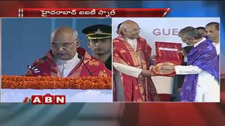 President Ram Nath Kovind Speech in IIT Convocation at Hyd..