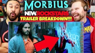MORBIUS Trailer Breakdown! Spider-Man Easter Eggs & Details You Missed - REACTION!!!