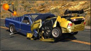 BeamNG Drive Random Vehicle #32 Crash Testing #143