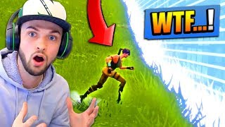 I found the BIGGEST NOOB in Fortnite...!