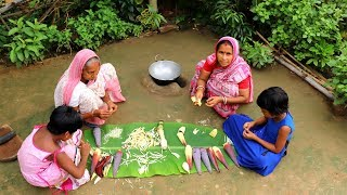 Bangali KOLAR MOCHA GHANTO Recipe by Grandmother | Village Favorite Lunch Menu