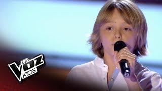 """Diego Carrascosa: """"Hello"""" – Audiciones a Ciegas  - La Voz Kids 2018"""