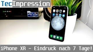 iPhone XR - Mein Eindruck nach 7 Tagen! Ist das Display wirklich so schlecht? | TecImpression | 4K