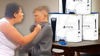Kid STEALS MOMS Credit Card to Buy PS5 (BIG MISTAKE)