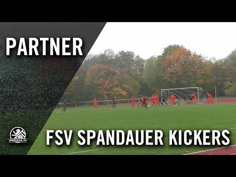 SC Schwarz-Weiss Spandau – FSV Spandauer Kickers (Landesliga, Staffel 2) - Spielszenen   SPREEKICK.TV