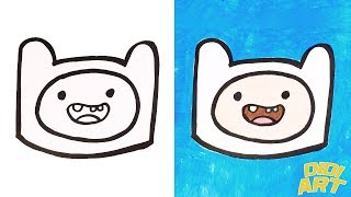 Learn Colors With Adventure Time Finn Drawing and Painting for Kids, Toddlers│DIDIART