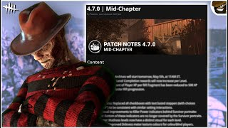 Midchapter Update Breakdown! Dead by Daylight Update 4.7.0
