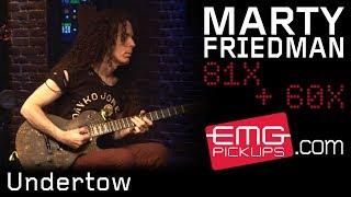 "Marty Friedman performs ""Undertow"" on EMGtv"