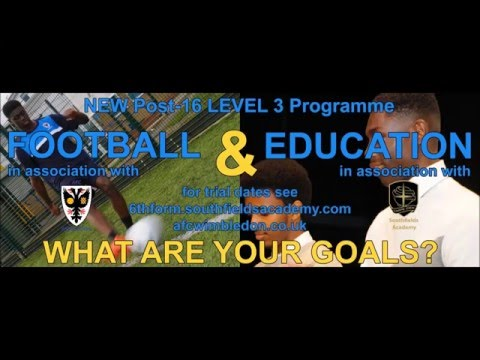 YOUR CAREER: Sign-up for AFC Wimbledon & Southfields Academy