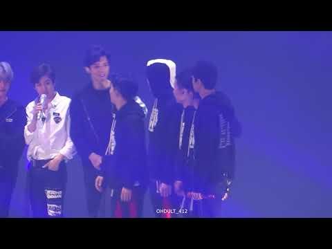 171126 The EℓyXiOn in Seoul ending sehun chanyeol