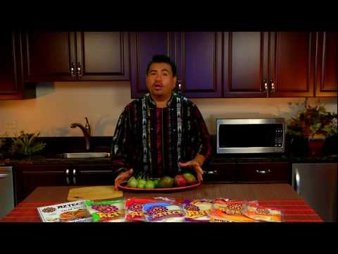 Azteca Food's Chef Gustavo Presents Mango and Tomatillo Tips!