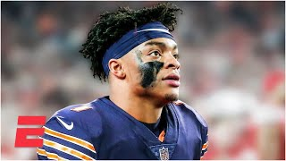 Reaction to the Chicago Bears trading up for Justin Fields   2021 NFL Draft
