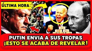 ⚠️ALERTA MUNDIAL USA A PUNTO DE INVADIR MEXICO! AMLO Y PUTIN ORDENAN AL 3J3RC1T0 RESP0NDER CON TODO