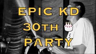 New footage! Kevin Durant (KD)'s EPIC 30th birthday IG mix [9:16] incl Rae Sremmurd singing HBD