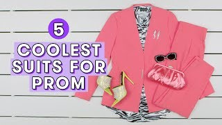 5 Cute Prom Suits for Girls   Style Lab