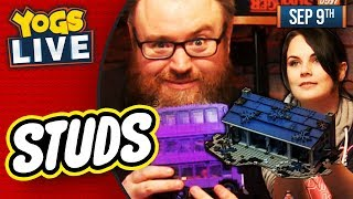 LEGO STUDS: HARRY POTTER & STRANGER THINGS BUILD w/ Simon & Nina! - 09/09/19