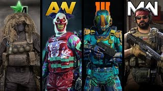 The Evolution of Customization in Every Call of Duty