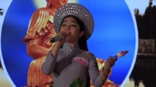 Quán Quân Giọng Hát Việt Nhí 2015: Hồng Minh-Nguyện Về Cõi Phật A Di Đà-Sen Vàng Từ Bi [Official]