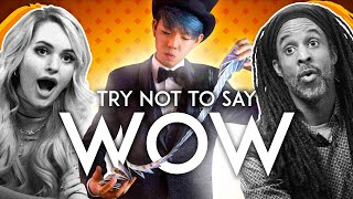 Try Not To Say WOW ft. A Pro Magician Challenge   Ultimate Duel