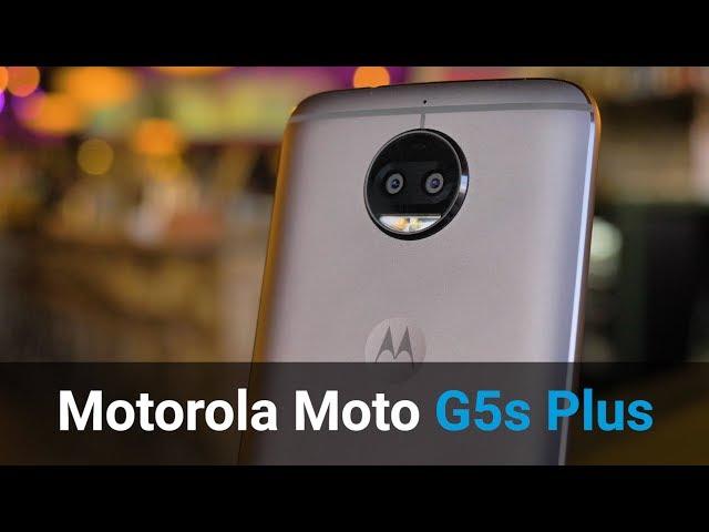 Belsimpel-productvideo voor de Motorola Moto G5s Plus Grey