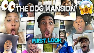 "My Friends React To ""THE DDG MANSION""!! *First look*"