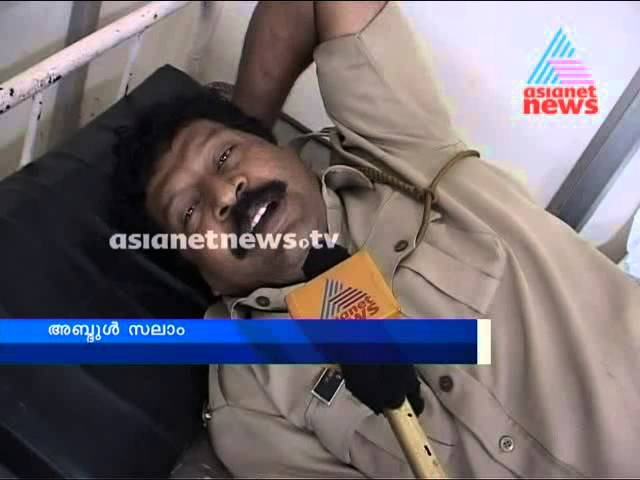 Police man stabbed at Kollam Railway station