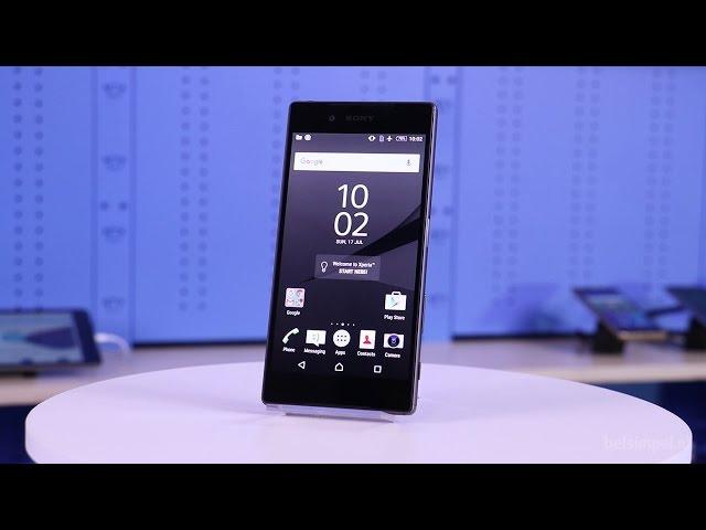 Belsimpel-productvideo voor de Sony Xperia Z5