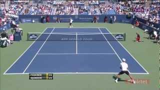 Cincinnati 2012 Finale - Roger Federer vs Novak Djokovic