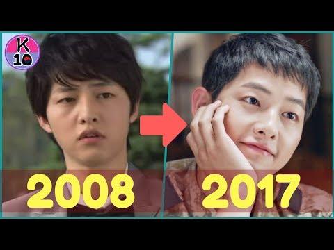 Song Joong ki EVOLUTION 2008-2017