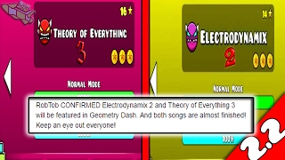 THEORY OF EVERYTHING 3 Y ELECTRODYNAMIX 2 EN GEOMETRY DASH 2 2