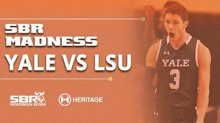 Yale vs LSU East Region, 1st Round | NCAA Picks & Predictions | NCAA Tournament Coverage