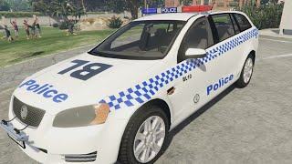 LSPDFR | CRAZY GIRL COP!! (NSW POLICE)