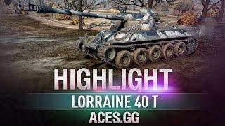 Обновлённый! Lorraine 40 t