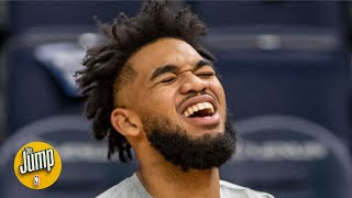 The NBA is noticing that Karl-Anthony Towns might not be truly elite - Nick Friedell | The Jump