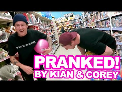 PRANKED BY KIAN LAWLEY AND COREY!,