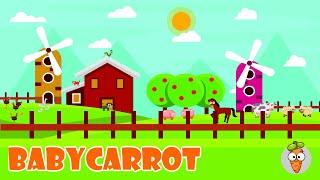 Happy Farm | Animated Songs For Kids | Nursery Rhymes